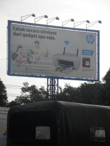 Visual BB 6x12 HP di Bandara baru Makassar