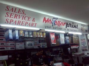 Neonbox Produk Printer Makassar