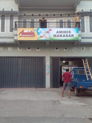 Plang Kantor Amidis di Makassar